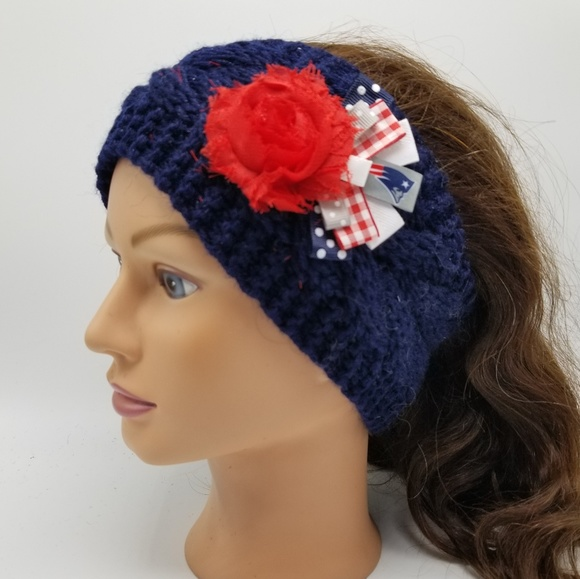 1e2462e50ebc0 New England Patriots Headband NFL NE Pats Pats Hat